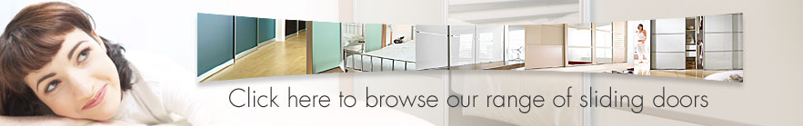 browse our range of Spacepro sliding wardrobe doors