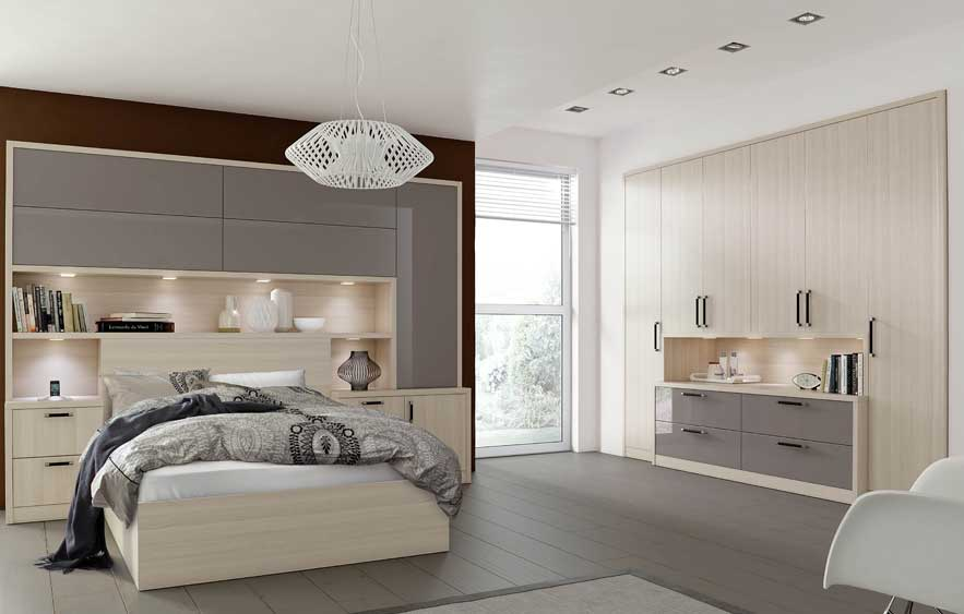 Daval Como fitted bedroom