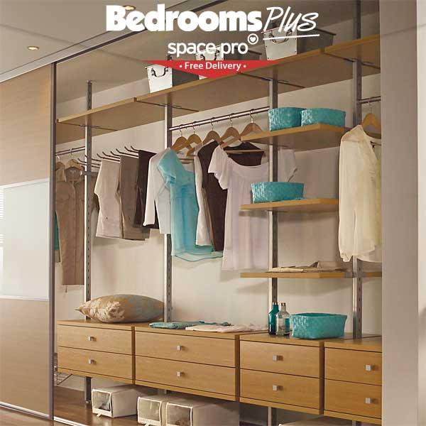 Spacepro Aura Wardrobe Storage System From Bedrooms Plus