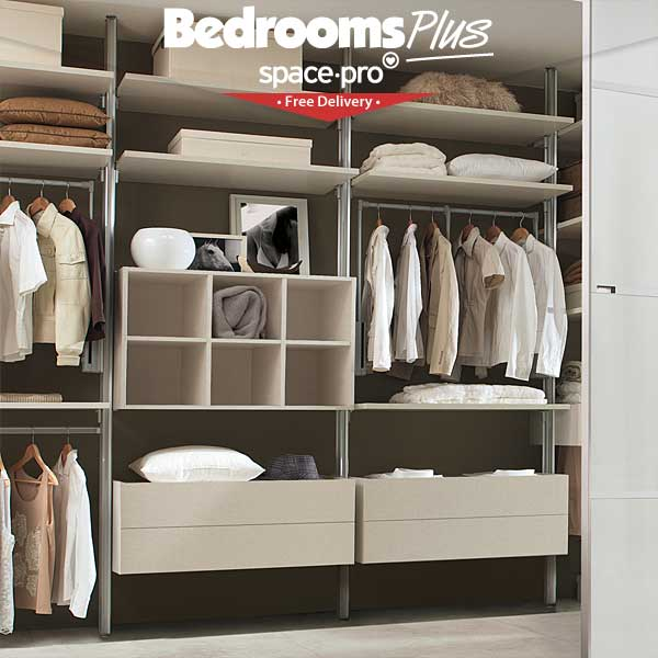 Spacepro Relax Wardrobe Storage System From Bedrooms Plus